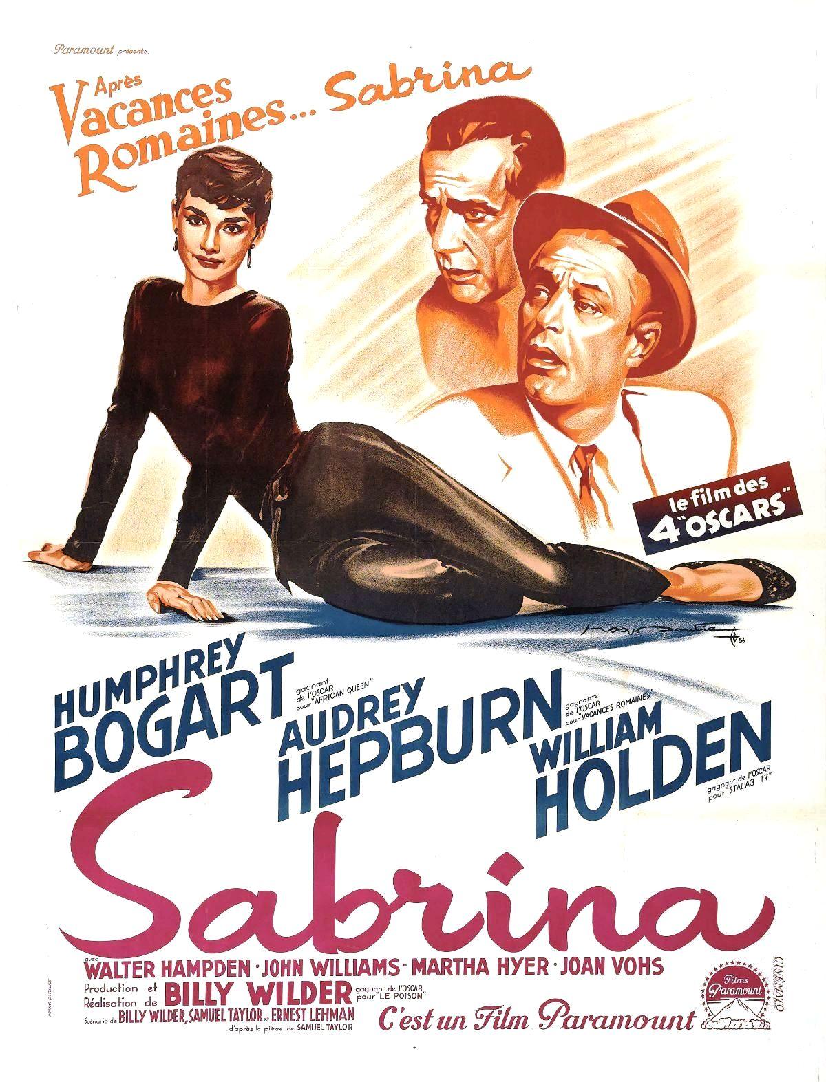 affiche du film Sabrina (1954)
