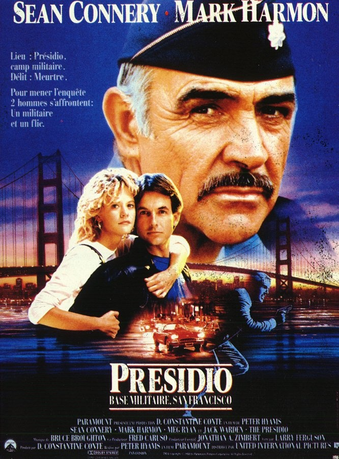 affiche du film Presidio: Base militaire San Francisco
