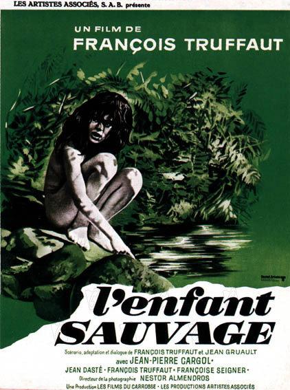 affiche du film L'enfant sauvage
