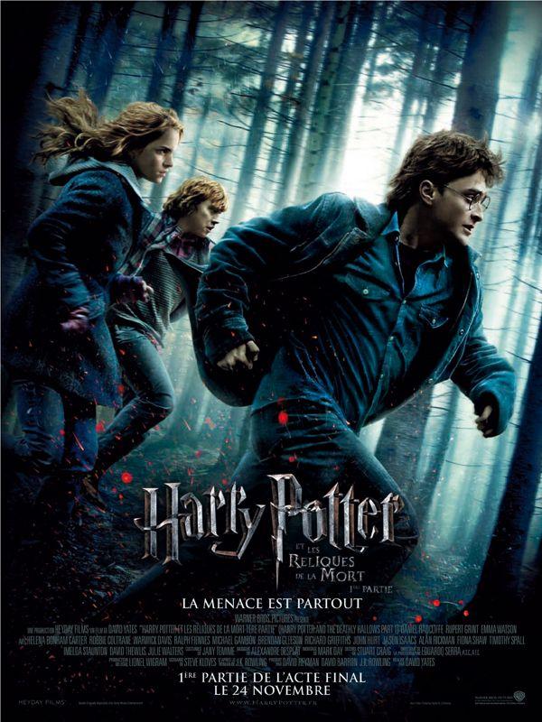 affiche du film Harry Potter et les Reliques de la mort : 1ère partie