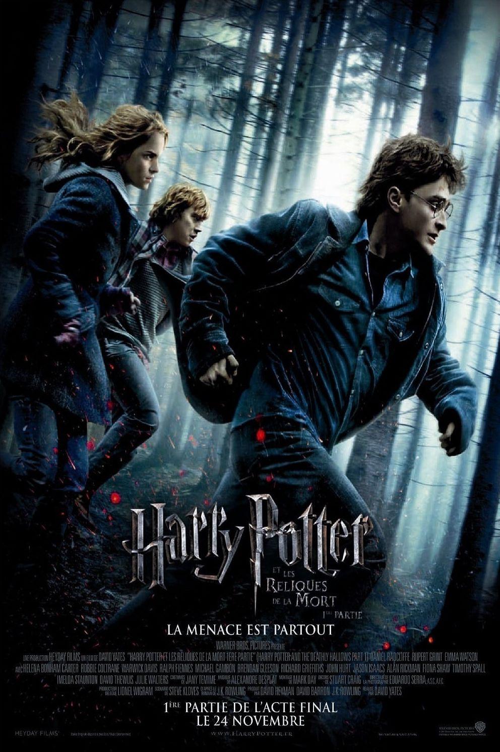 affiche du film Harry Potter et les Reliques de la mort: 1ère partie