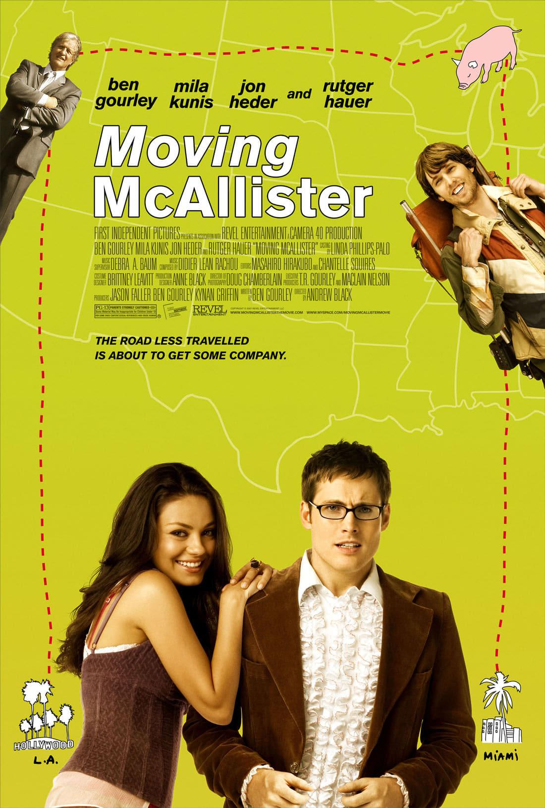 affiche du film Moving McAllister