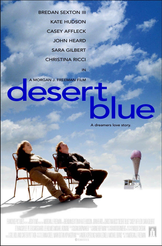 affiche du film Desert Blue