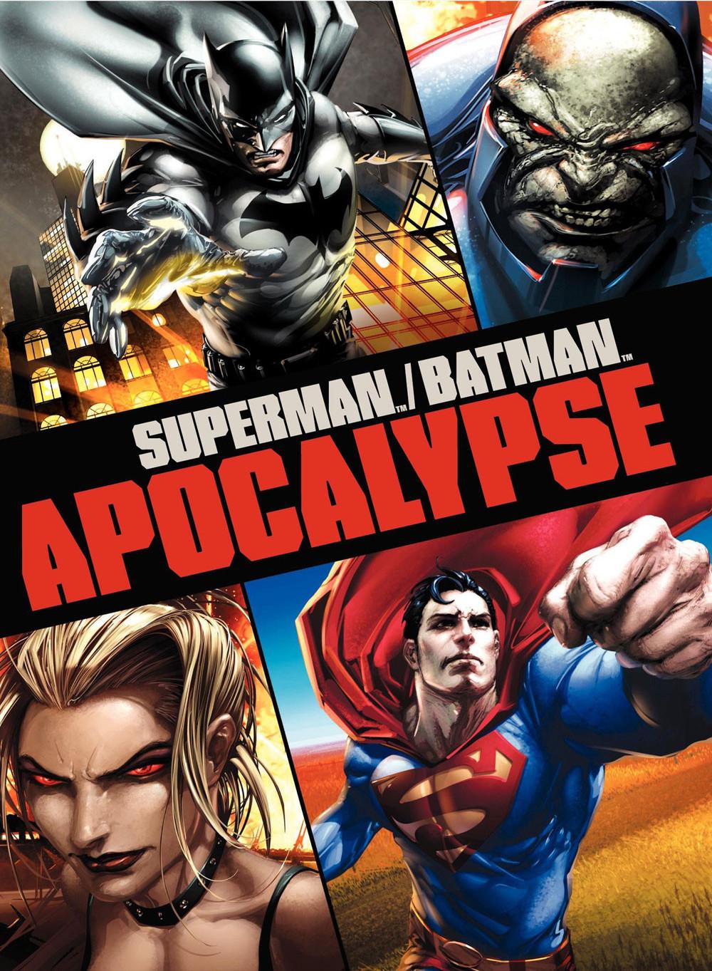 affiche du film Superman/Batman : Apocalypse