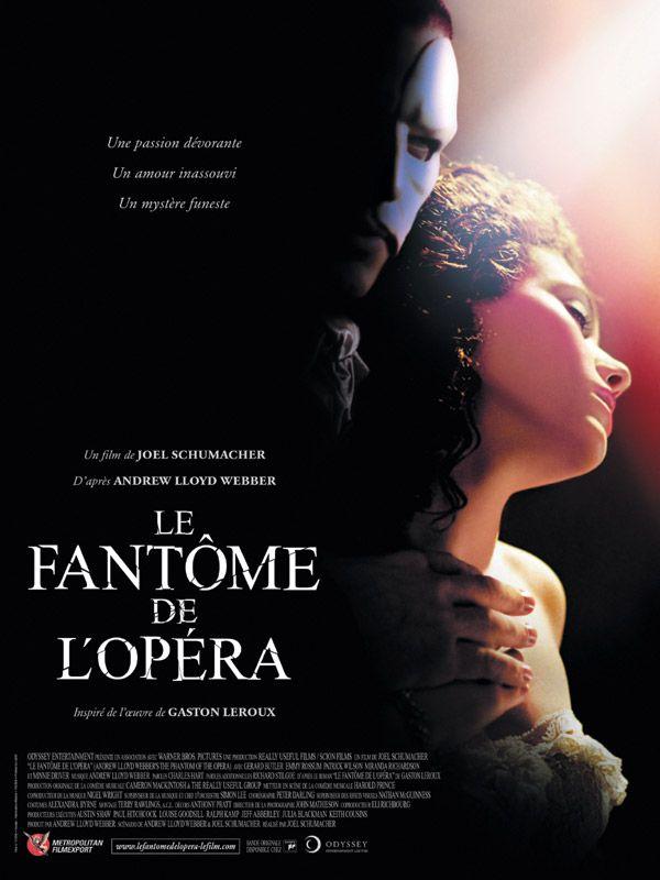 affiche du film Le Fantôme de l'opéra (2004)