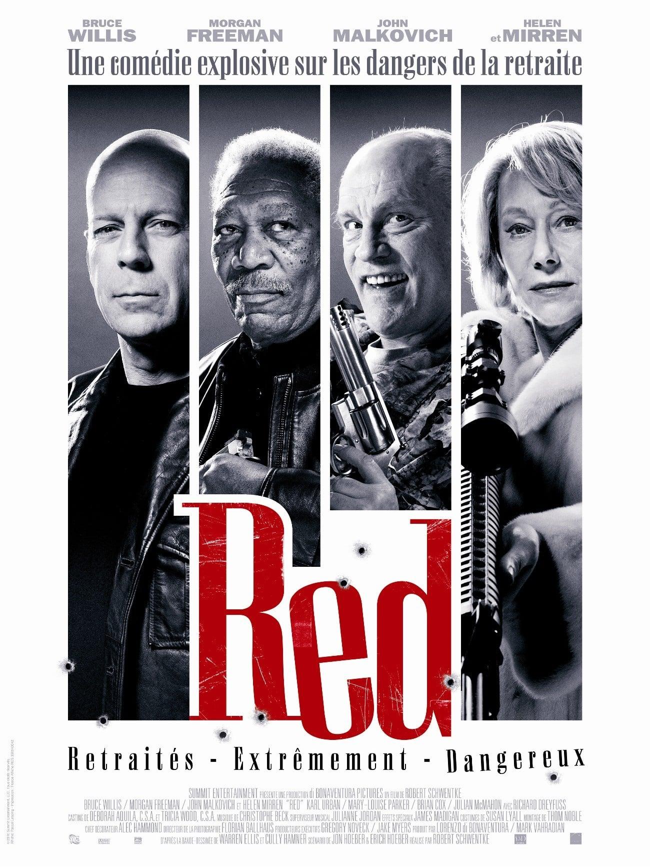 affiche du film Red