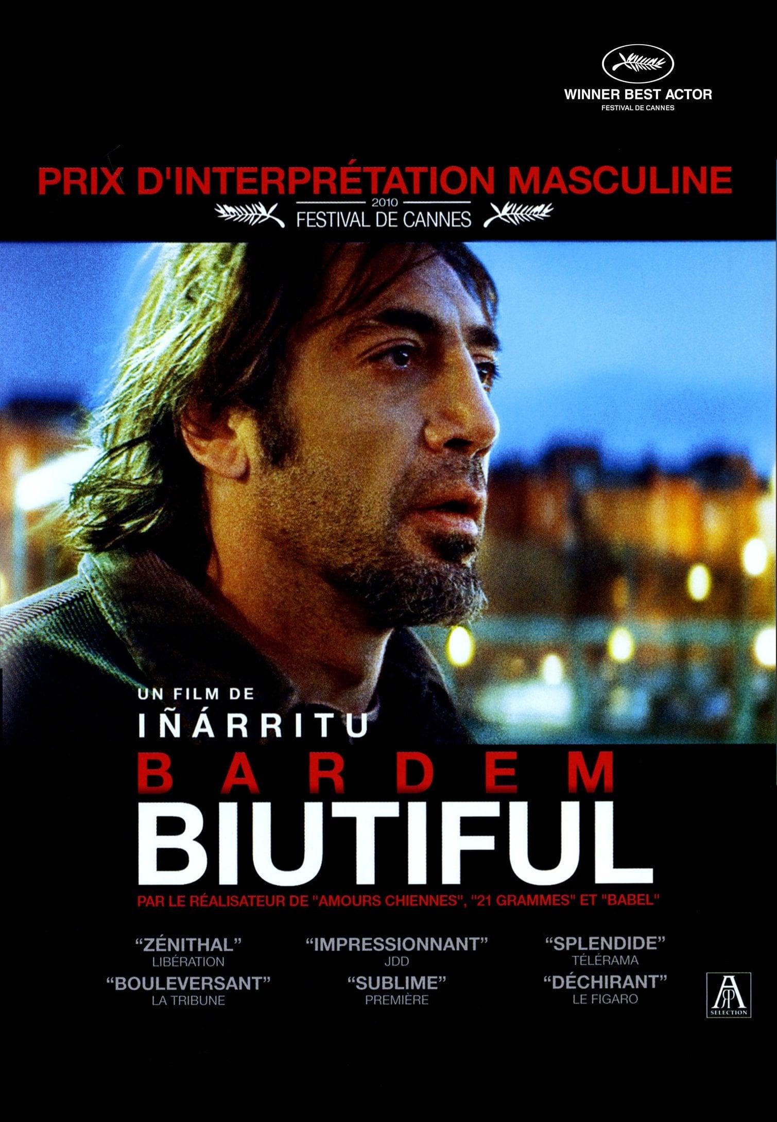 affiche du film Biutiful