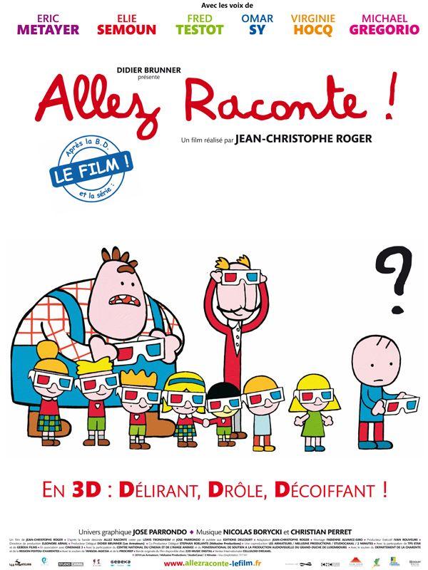 affiche du film Allez raconte !