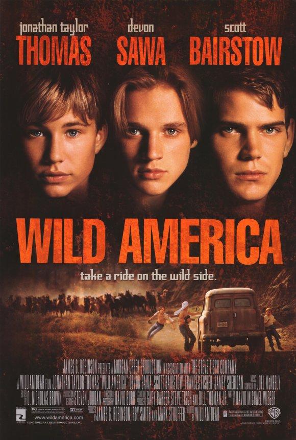affiche du film L'Amérique sauvage
