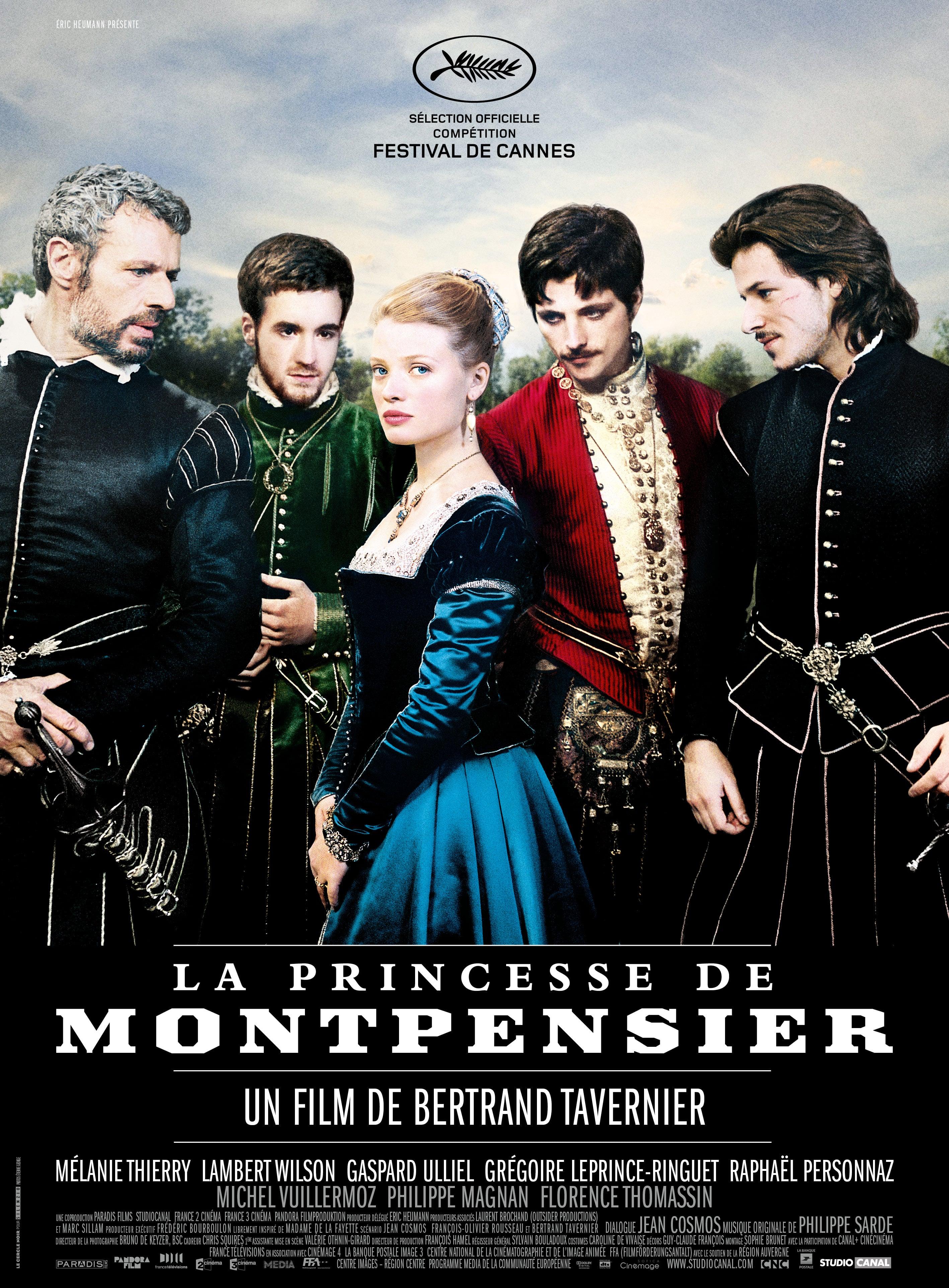 affiche du film La Princesse de Montpensier