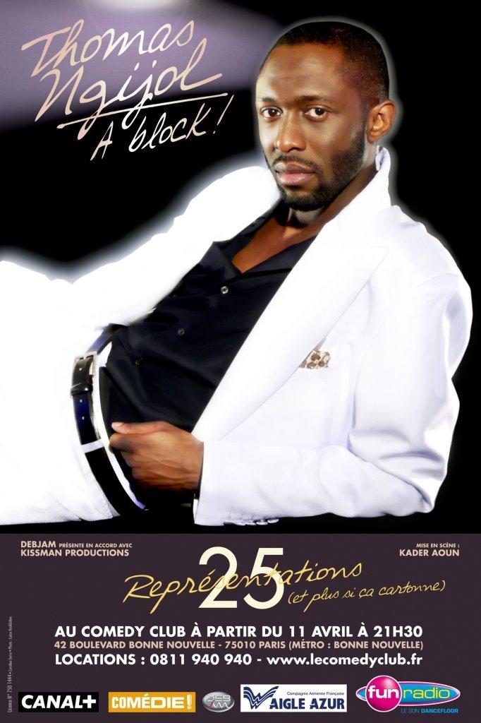 affiche du film Thomas Ngijol: À Block!