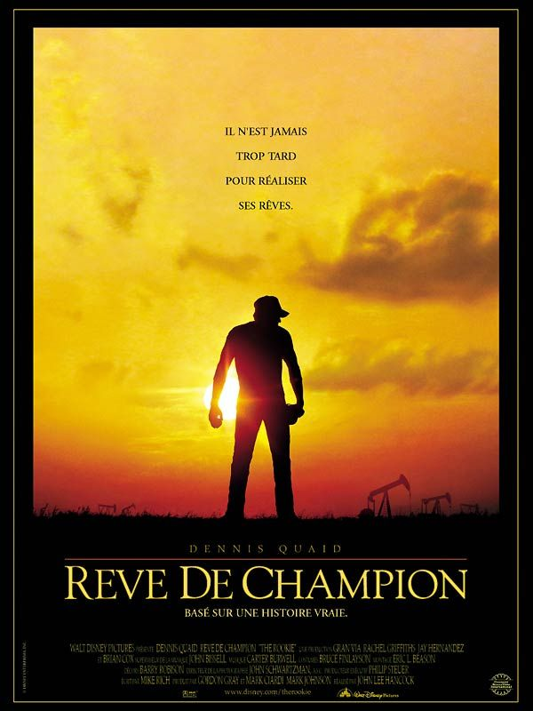 affiche du film Rêve de champion