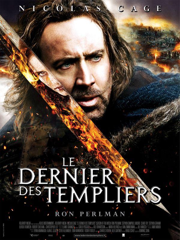 affiche du film Le dernier des Templiers