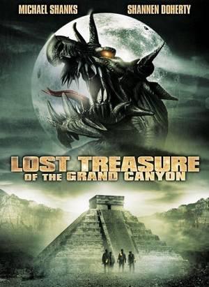 affiche du film Le trésor perdu du Grand Canyon (TV)