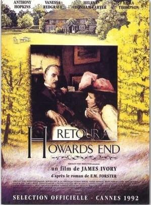 affiche du film Retour à Howards End