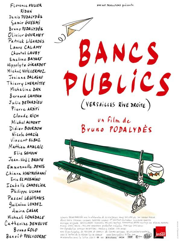 affiche du film Bancs publics (Versailles rive droite)