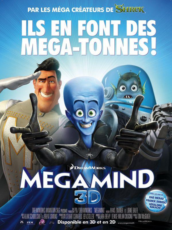 affiche du film Megamind