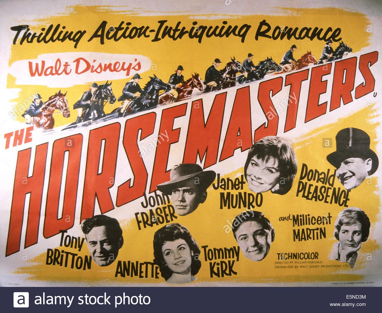 affiche du film The Horsemasters (TV)