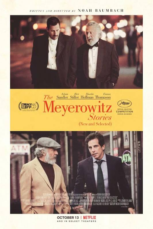 affiche du film The Meyerowitz Stories (New and Selected)