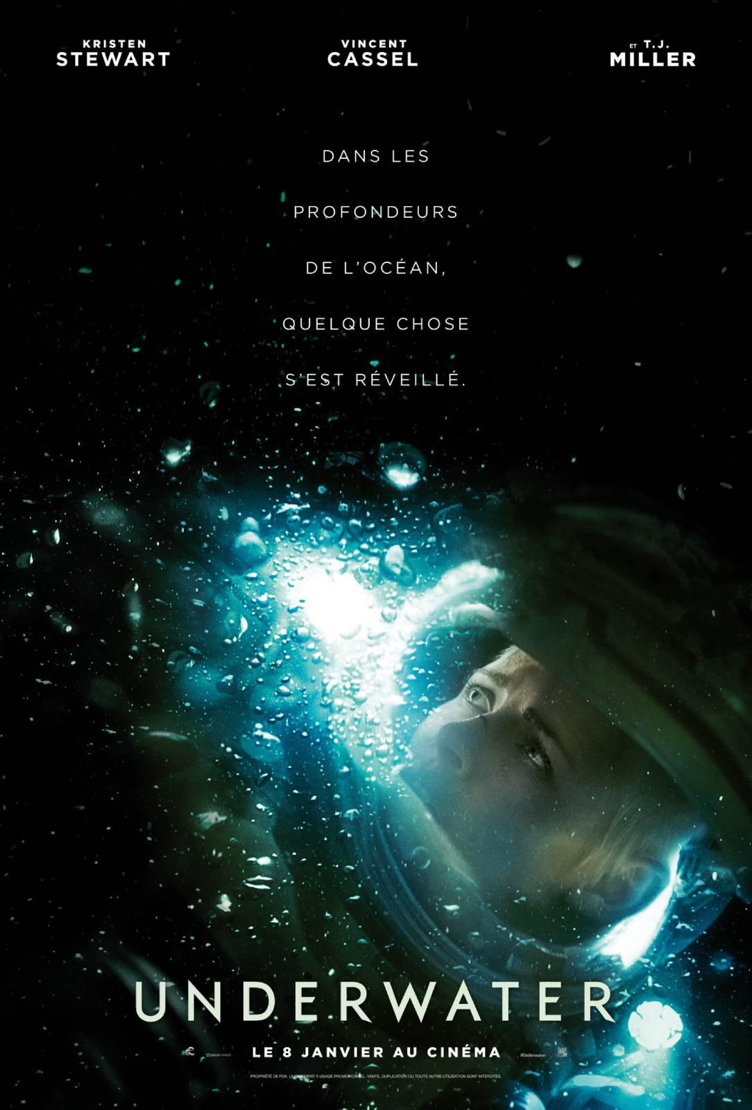 affiche du film Underwater