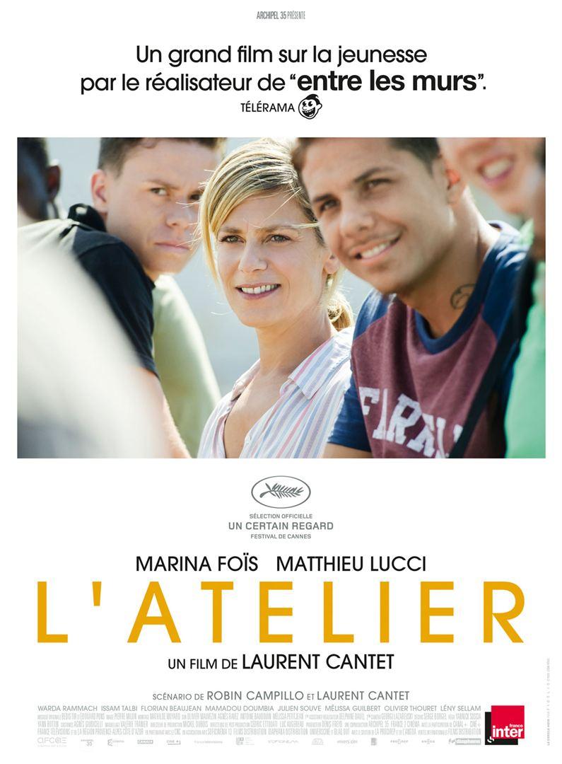 affiche du film L'Atelier