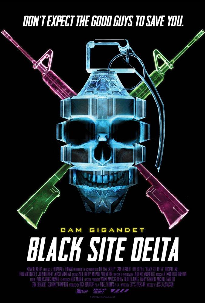 affiche du film Black Site Delta