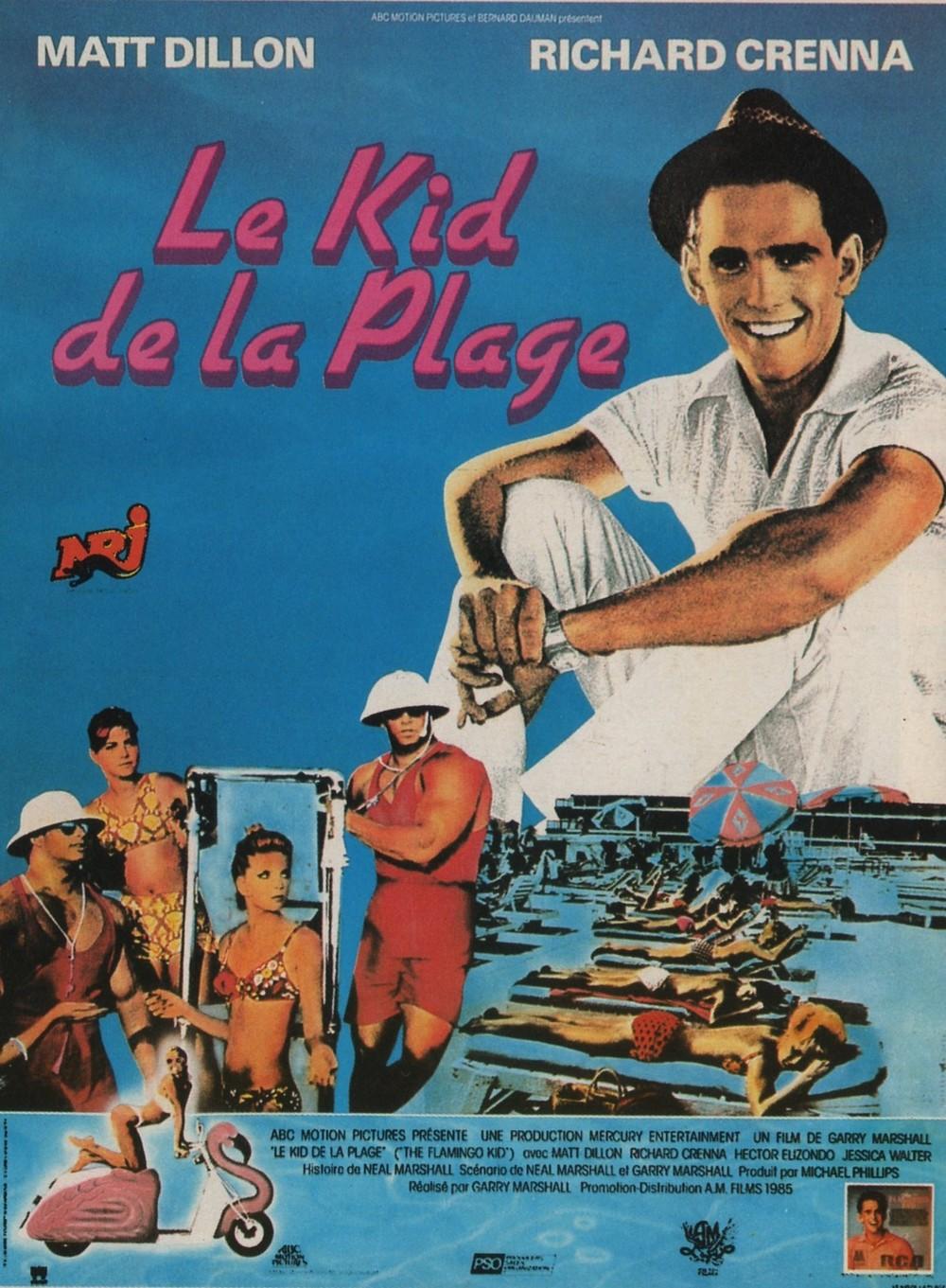 affiche du film Le Kid de la plage