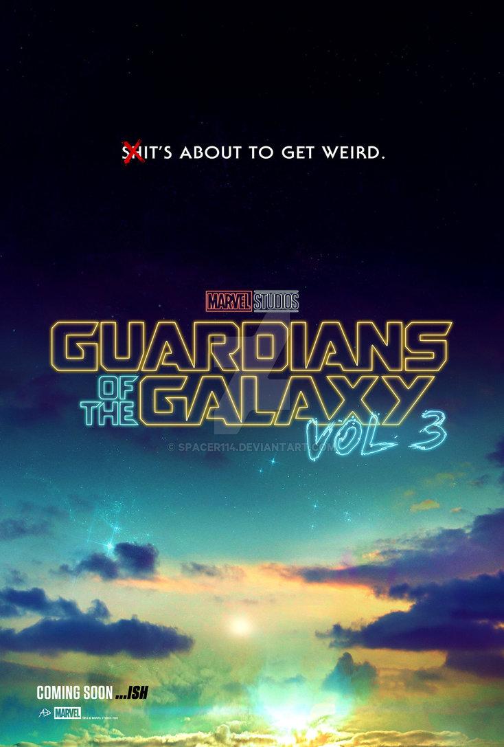 affiche du film Guardians of the Galaxy Vol. 3