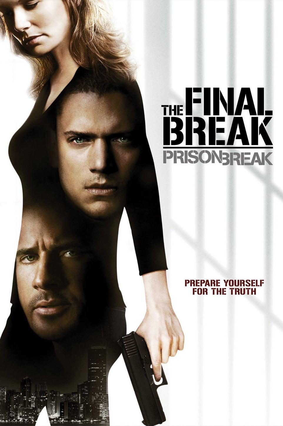 affiche du film Prison Break: The Final Break (TV)