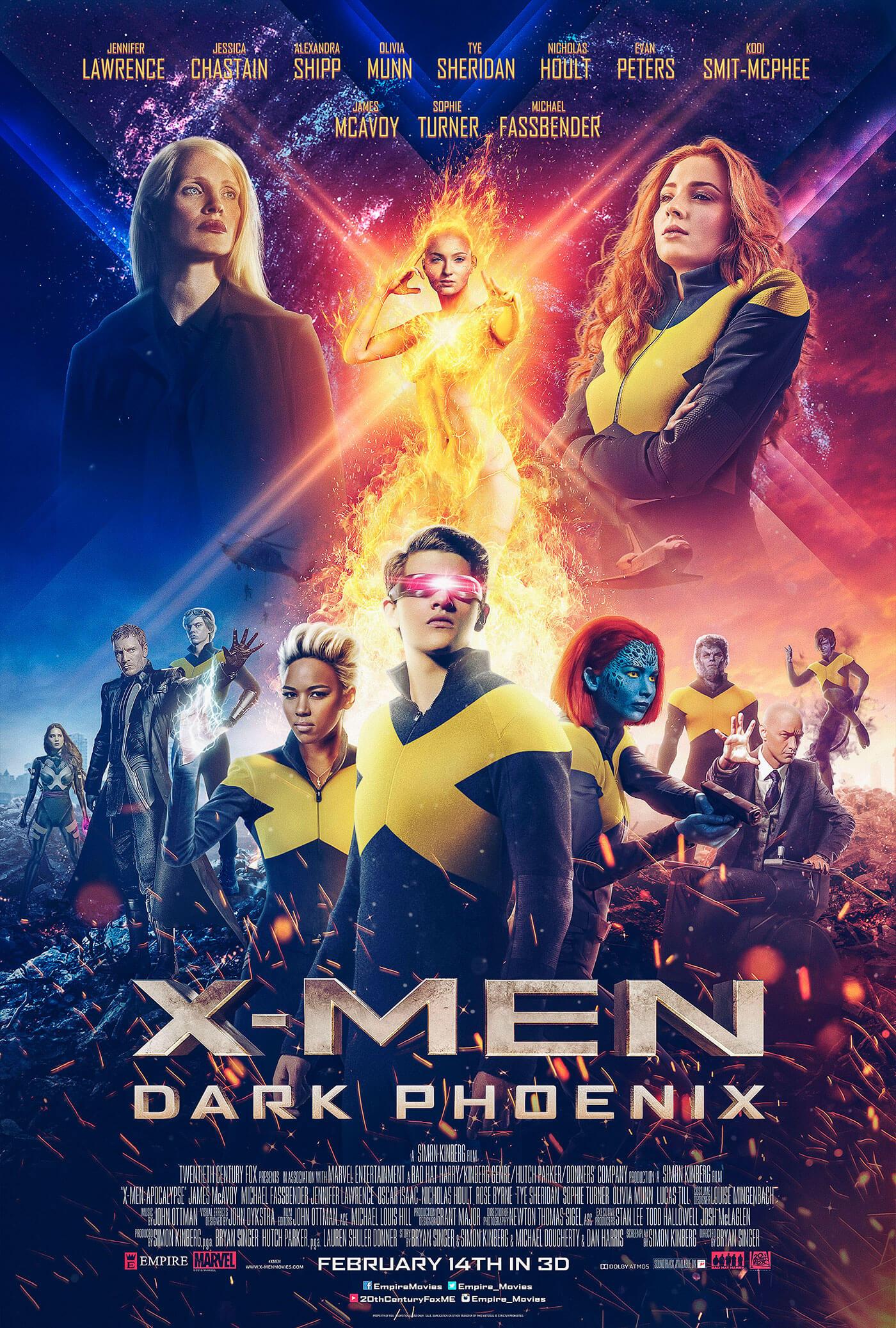 affiche du film X-Men: Dark Phoenix