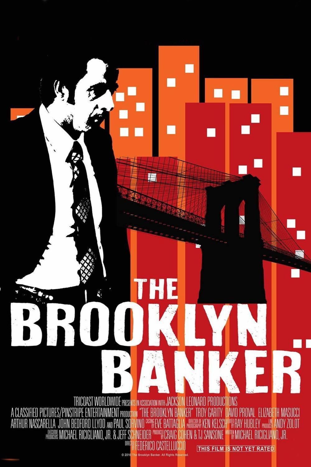 affiche du film The Brooklyn Banker