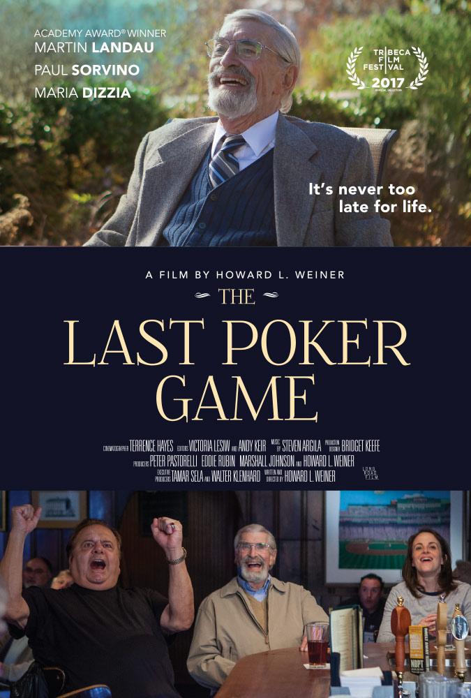 affiche du film The Last Poker Game