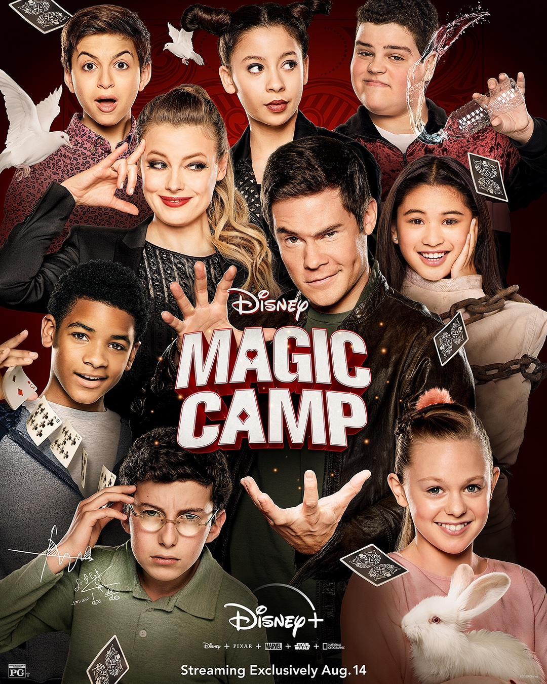 affiche du film Magic Camp