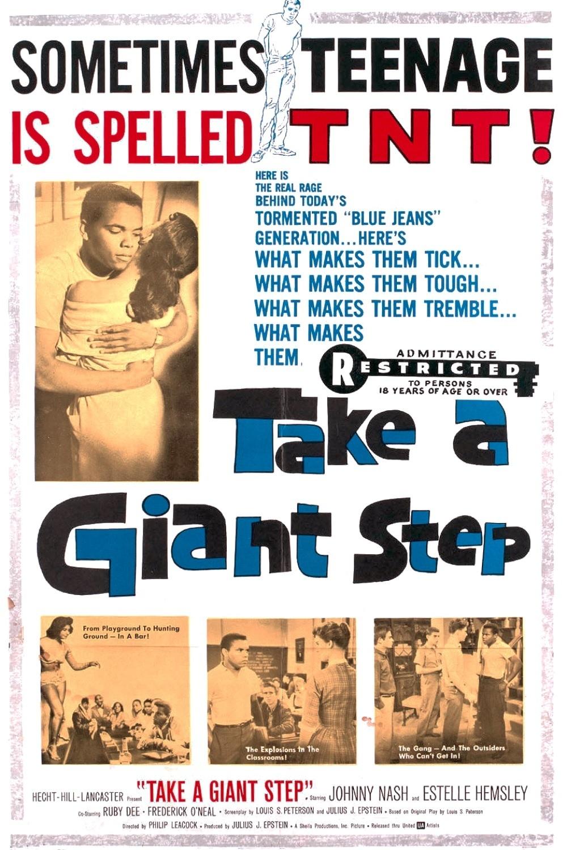 affiche du film Take a Giant Step