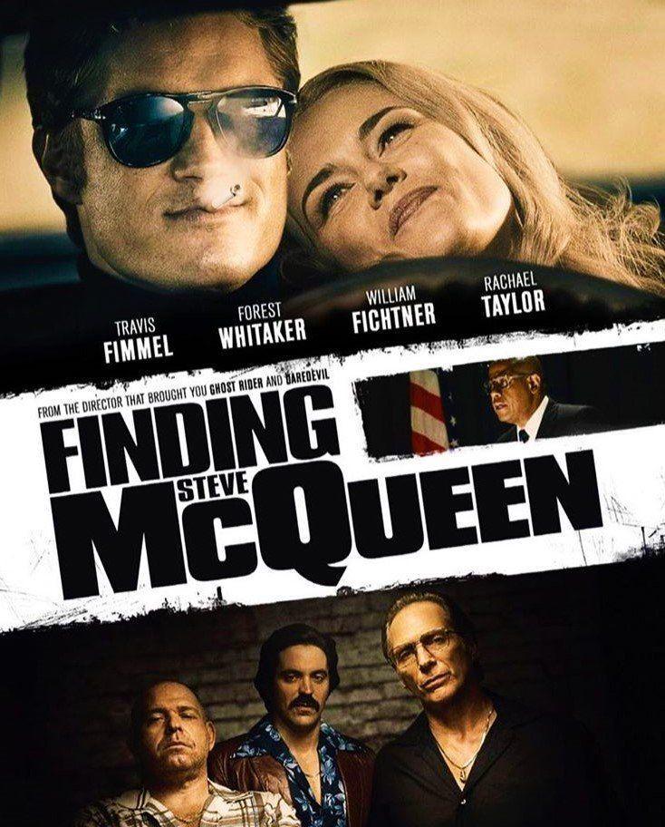 affiche du film Finding Steve McQueen