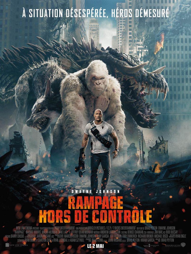 affiche du film Rampage : Hors de contrôle