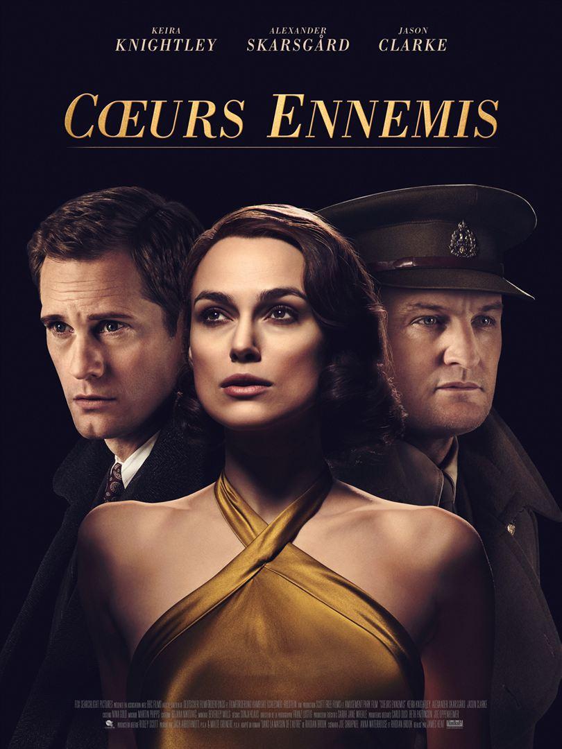 affiche du film Cœurs ennemis