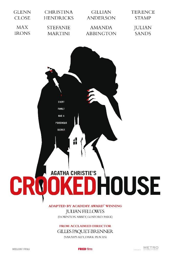 affiche du film La maison biscornue d'après Agatha Christie (TV)