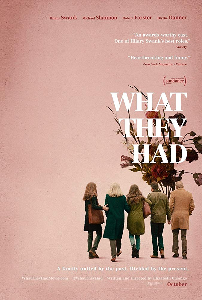 affiche du film What They Had