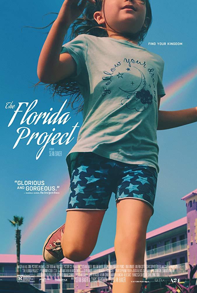 affiche du film The Florida Project