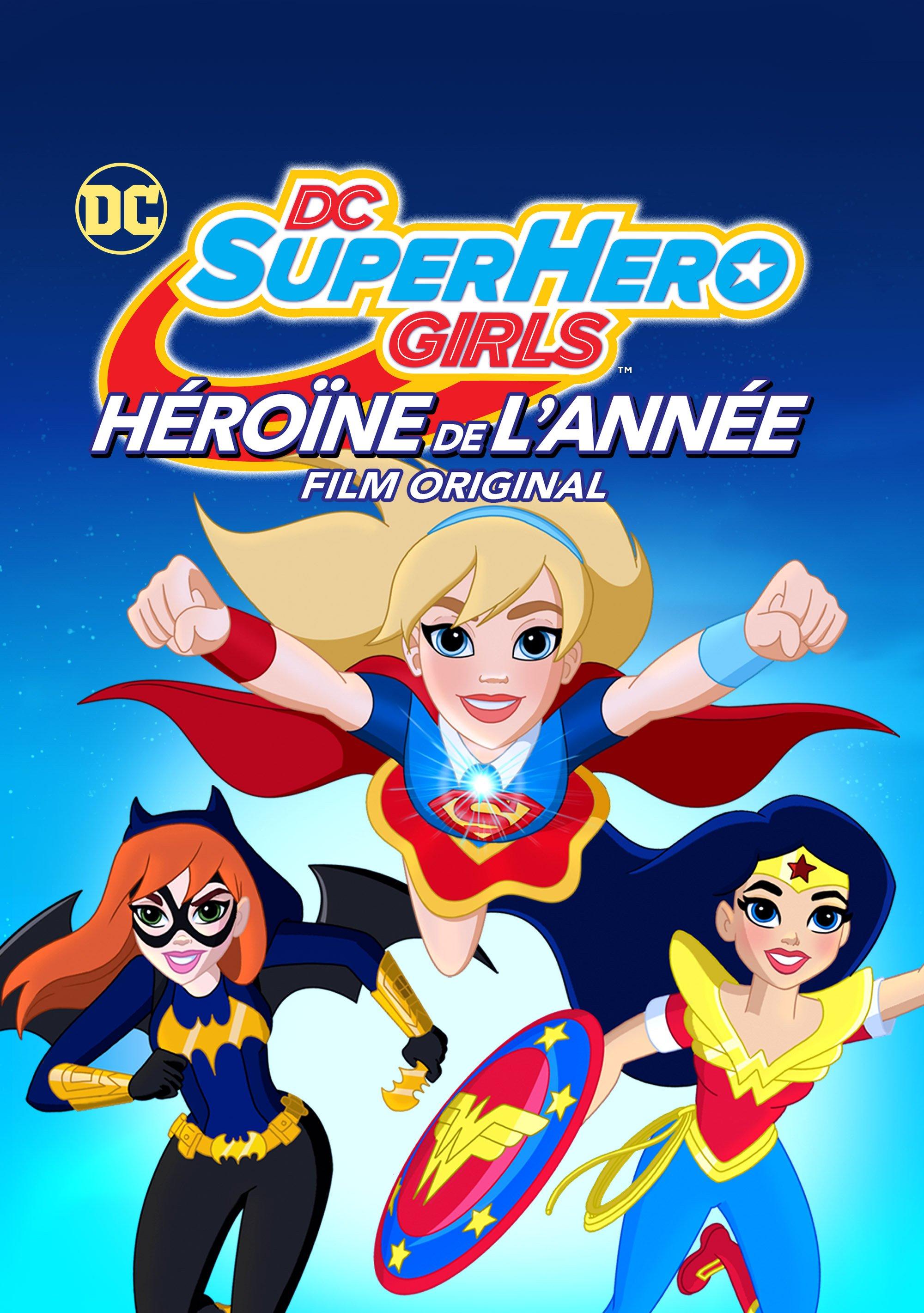 affiche du film DC Super Hero Girls : Héroïne de l'année