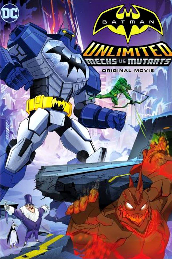 affiche du film Batman Unlimited : Machines contre Mutants