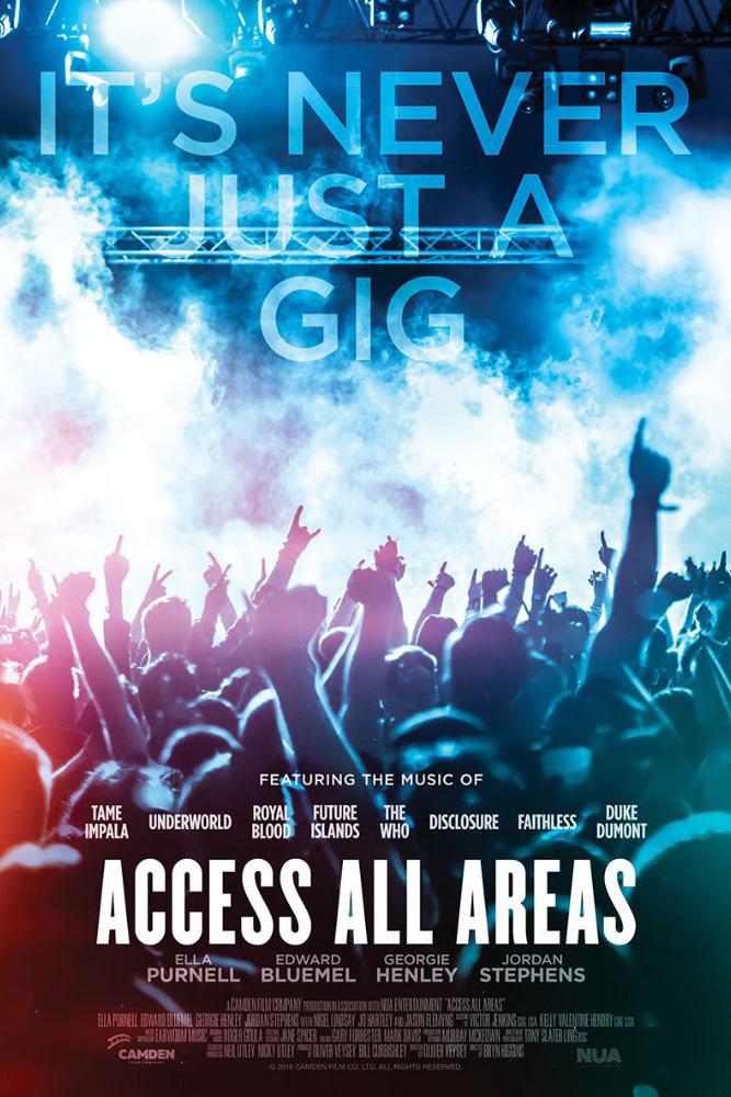 affiche du film Access All Areas