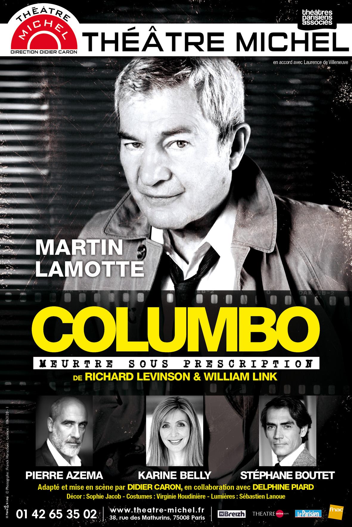 affiche du film Columbo, meurtre sous prescription