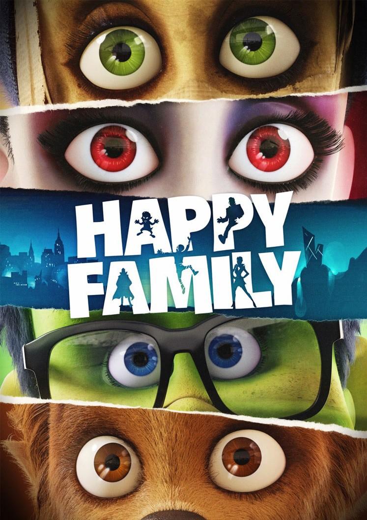 affiche du film Happy Family