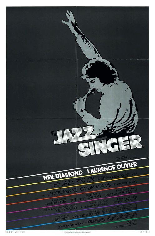affiche du film Le chanteur de jazz