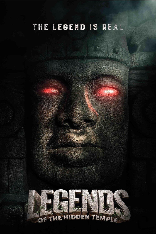 affiche du film La Malédiction du temple maya