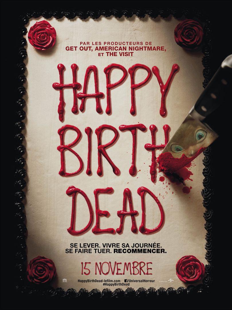 affiche du film Happy Birthdead