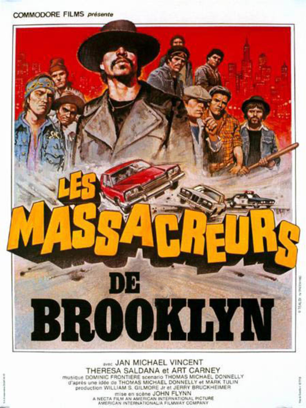 affiche du film Les massacreurs de Brooklyn