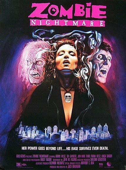 affiche du film Zombie Nightmare